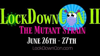 LockDownCon II - Sunday Programming
