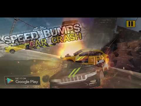 Speed Bump Car Crash Test: Speed Breaker Challenge- New Android Gameplay