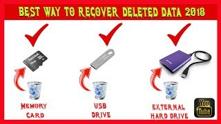 How To Recover Deleted Formatted OR Lost Data? Solved 2018
