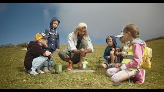 Фото Детская горная академия бродилки и экспедиции на Роза Хутор