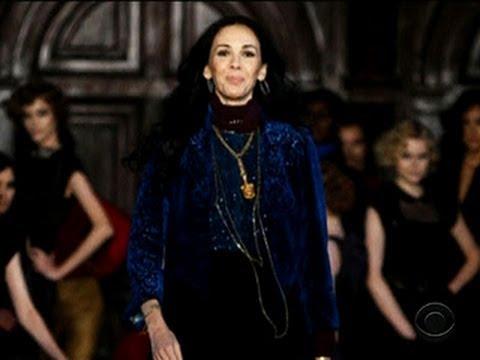 Fashion designer L