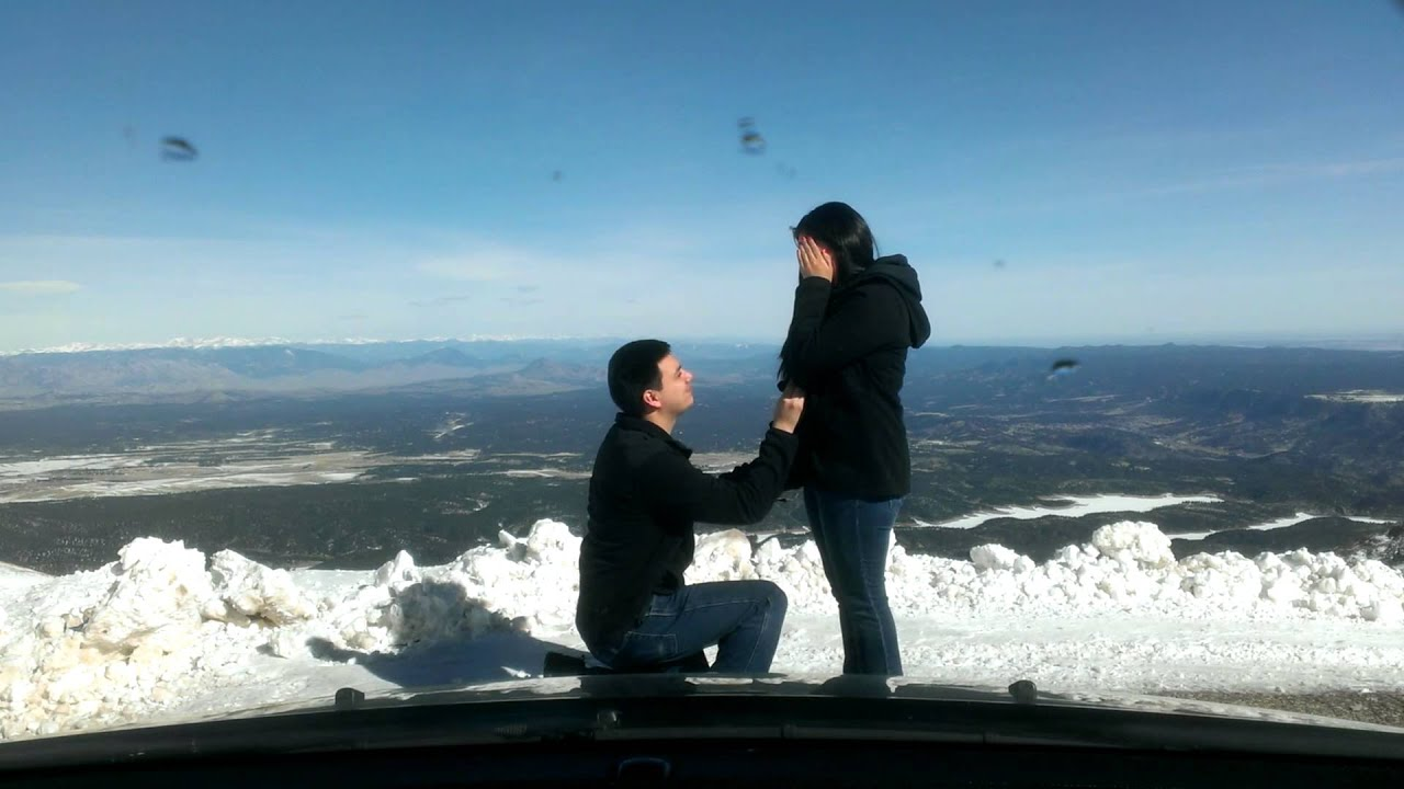 Pikes Peak Marriage Proposal