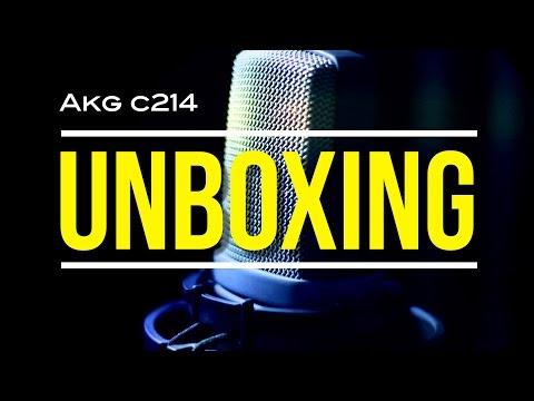 AKG c214 Unboxing & Review