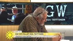 """Fallet Esa Teittinen: """"Domen är utomordentligt märklig"""" - Nyhetsmorgon (TV4)"""