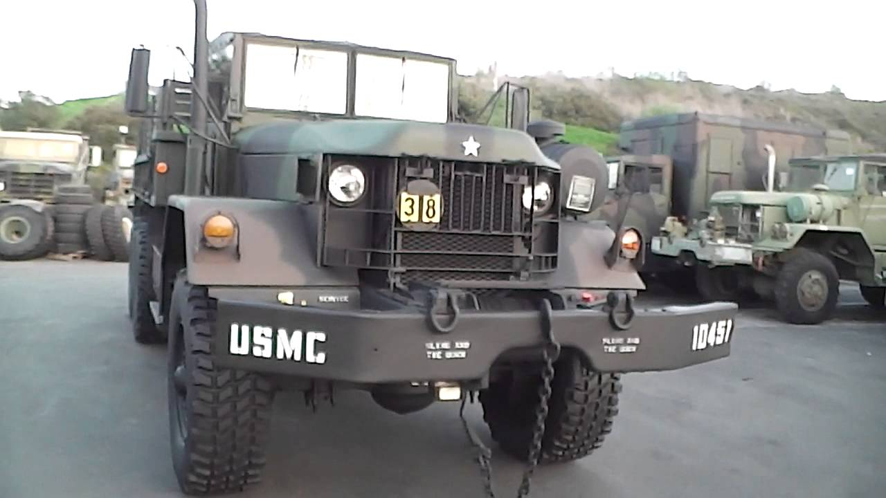 Military M813 Cargo Truck with Winch for Auction on eBay from SCYRO35