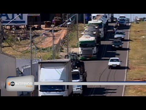 Os reflexos da paralisação dos caminhoneiros na região