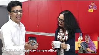 #OMG - O Maa Go - S02E54 - Babu's first day in new office
