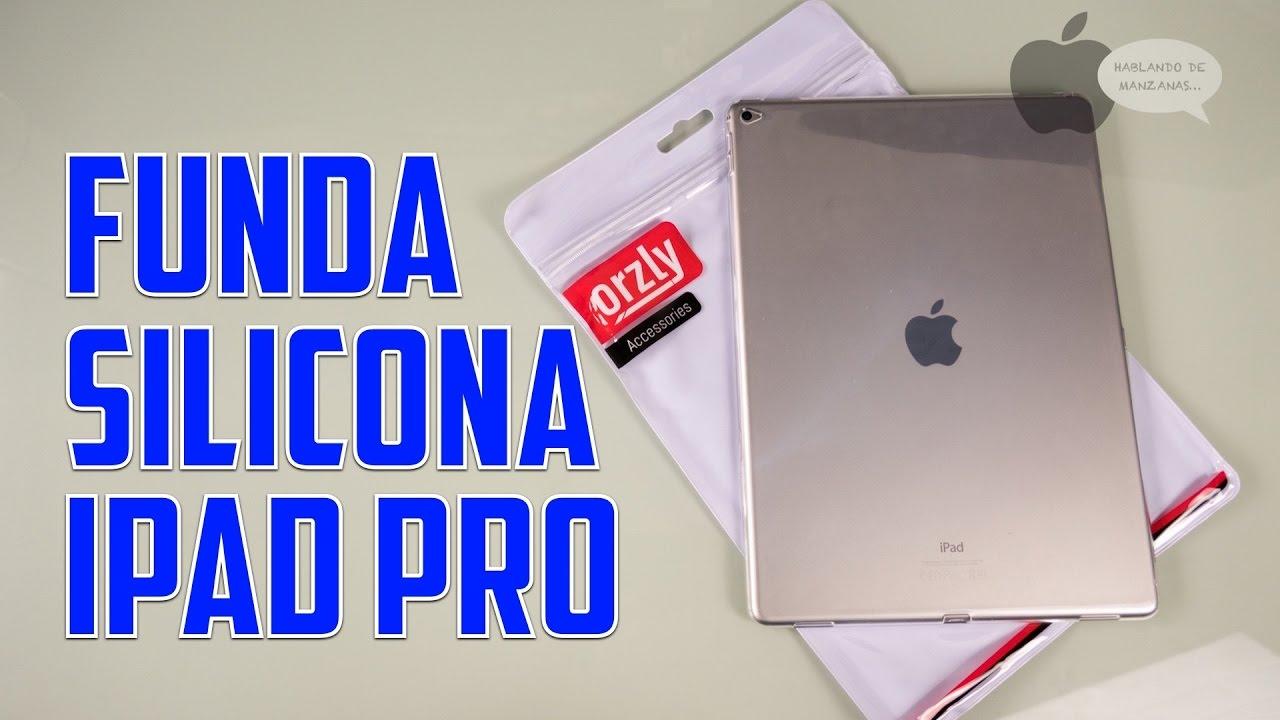09b2fdc5f94 Funda de silicona sencilla y barata para iPad Pro 12.9'' y 9.7'' - YouTube