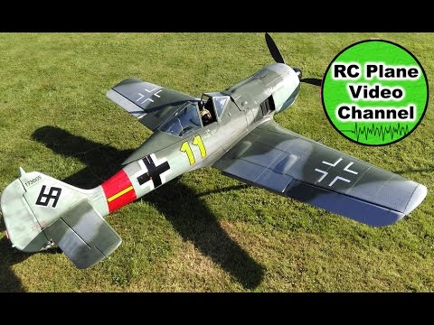 Focke Wulf FW 190 A-8 - Xtremefly.cz - 2700mm - Moki 250 - Flugtag 2016 Sulzbach-Rosenberg - Reiner