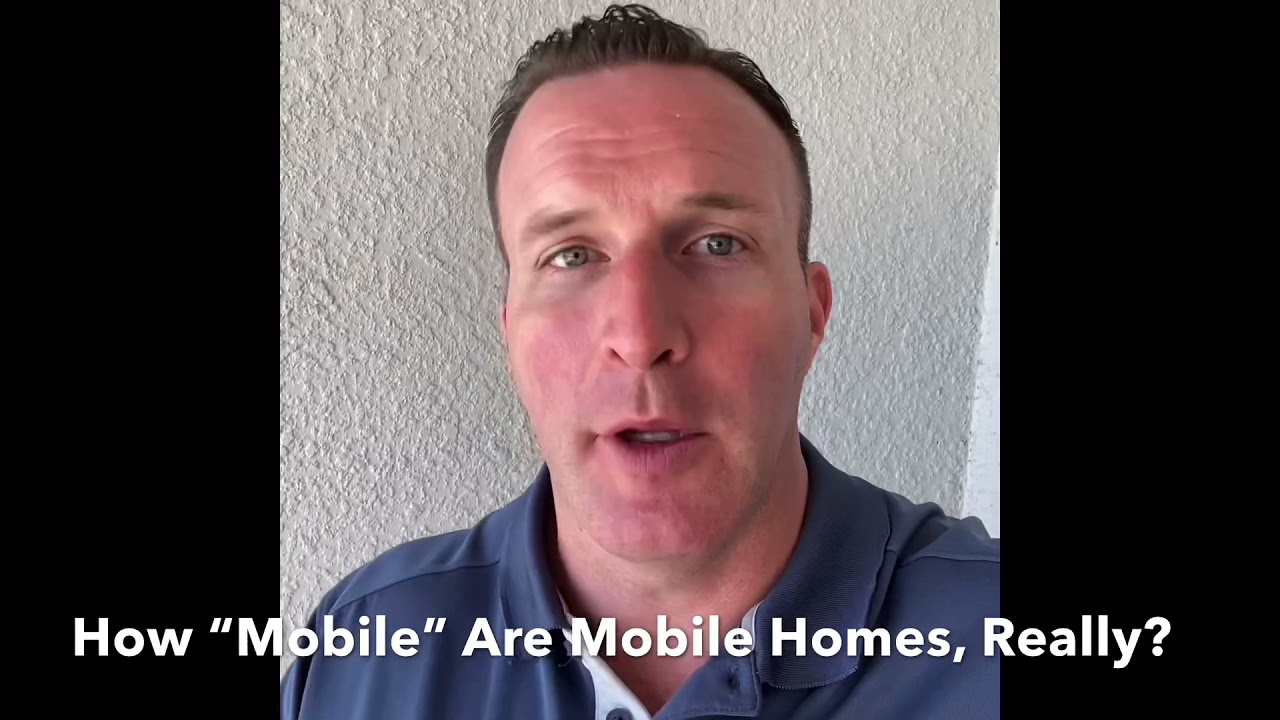 """Are Mobile Homes Really """"Mobile"""""""