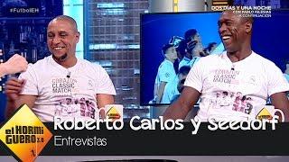 """Roberto Carlos """"rompe a llorar"""" al hablar de su amigo Seedorf - El Hormiguero 3.0"""