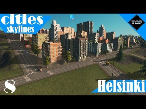 Cities: Skylines | Helsinki - Osa 8 | Aina vaan kuolemaa ja roskaa?!?!