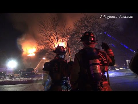 Rolling Meadows Apartment Fire Carriage Way Wednesday March 4, 2015 (23:04)