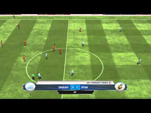 FIFA 13 Uruguay VS Spain