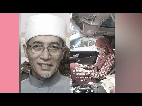 Pelik Fathia Latiff solat dalam kereta? Dengar sendiri penjelasan mufti dan ahli agama