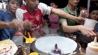 Món ăn đường phố [Bánh kép Thái Lan]