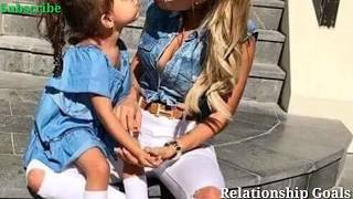 Cute😄Relationship in   Mother and Daughter   Relationship Goals   