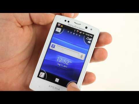 Sony Ericsson Xperia mini pro unboxing