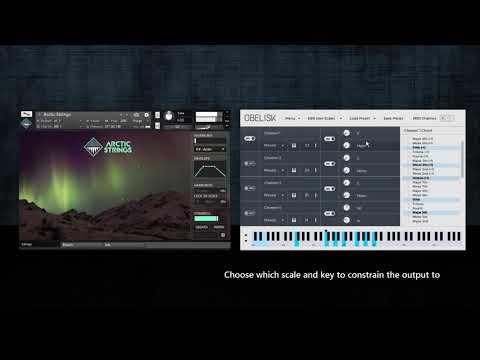Obelisk - MIDI Chord Builder VST plugin