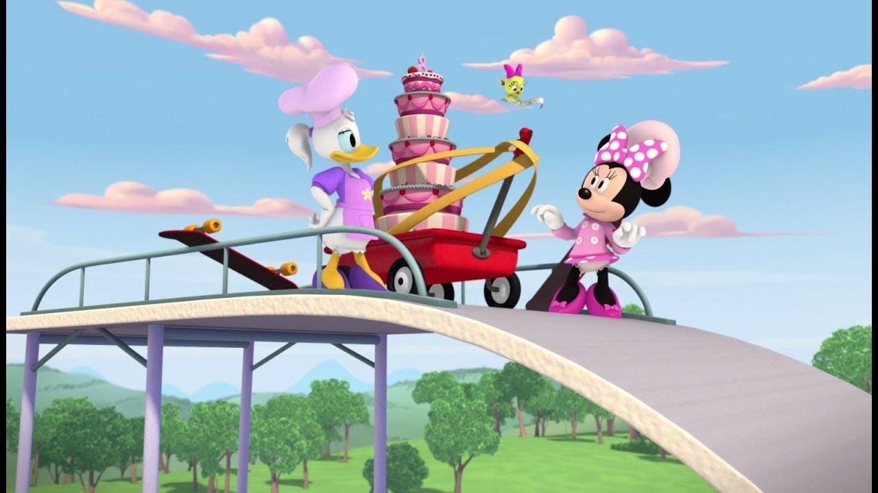 מיקי ומכוניות המירוץ | עוגת יום הולדת