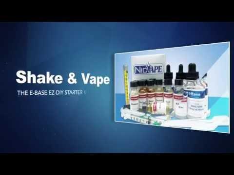 E-Base Ready-to-Flavor E-Liquid Introduction