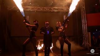 Theme fire show / Chinese new year party