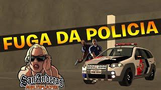Fuga da policia  - GTA San Andreas MTA