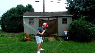 Golf Swing- Down-The-Line 9/5/11 60fps