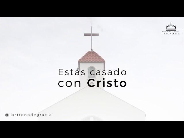 Estás casado con Cristo / Escuela Teológica / Clase 2 /  Ps. Ruben Contreras