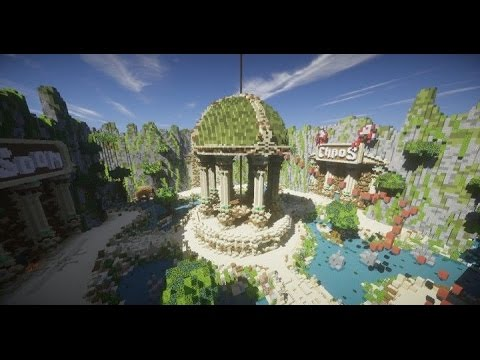 Minecraft Speed Build 1 Server Spawn Hub HD Download