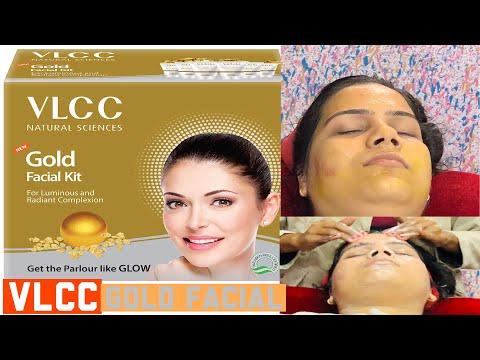 Vlcc gold facial at home||घर पे सीखिए गोल्ड फेशीयल  करना||गोरी त्वचा के लिए फेशियल ||