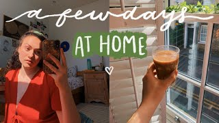 a chill few days in my life at home ☁️ quarantine vlog