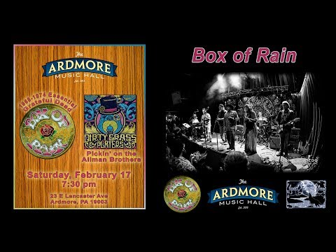 2018-02-17 – Box Of Rain – Ardmore Music Hall
