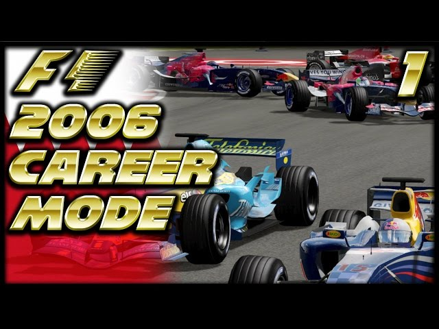 F1 2006 Career Mode Part 1: Earning a Drive