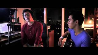 Fly Me To The Moon/Kiss me (mash-up cover) Dave Lamar ft. Josh David