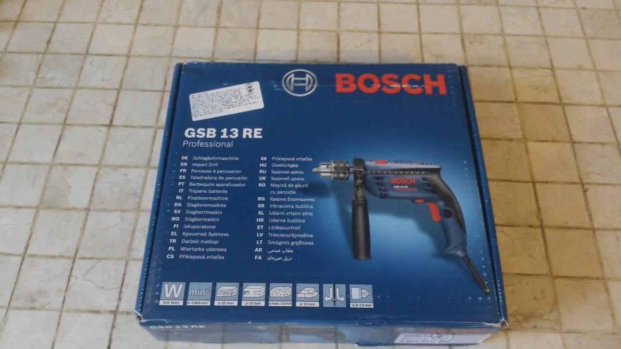 Cool Обзор дрели Bosch GSB 13 RE - YouTube SR09