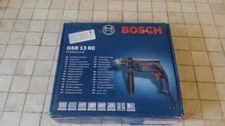 Обзор дрели Bosch GSB 13 RE