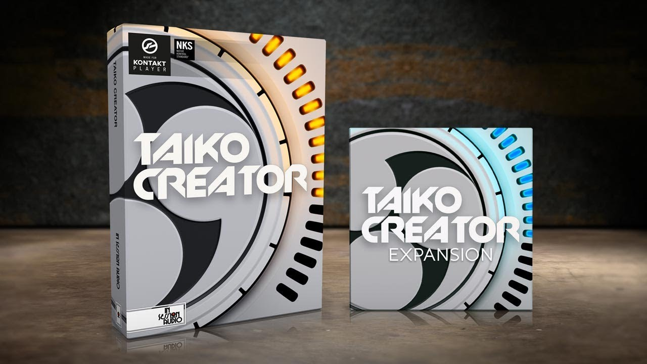 Taiko Creator - Drum Sample Library for Kontakt Player - In
