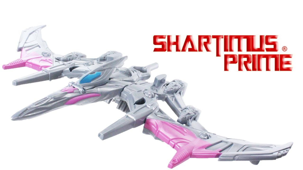 Power Rangers Movie Pterodactyl Battle Zord with Pink Ranger Figure