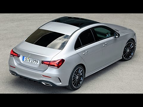 2019 Mercedes A-Class Sedan - Drive, Design and Interior