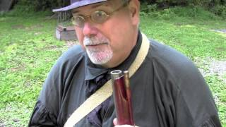 TVM Flintlock Fowler part 1 Loading with Round Ball