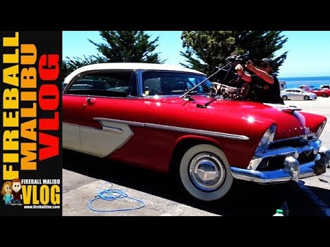 1956 PLYMOUTH BELVEDERE CAMERA CAR! - FIREBALL MALIBU VLOG 636