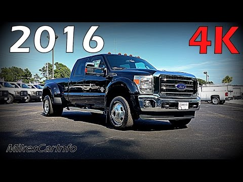 2016 Ford SuperDuty F-350 Lariat Crew Cab 4WD - Ultimate In-Depth Look | 4x4 DRW Dually in 4K