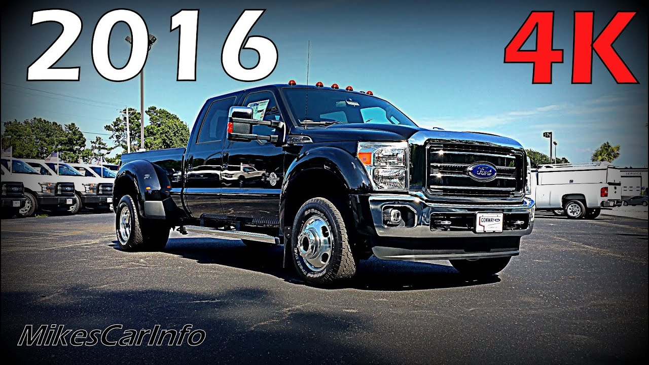 2016 Ford Super Duty 4x4