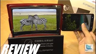 REVIEW: ProjectAir Video - Smartphone Screen Enlarger, Magnifier!