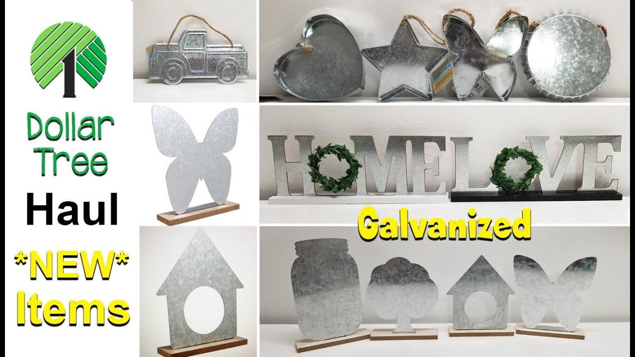 Dollar Tree Haul *NEW* Galvanized Items 😃