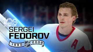 Sergei Fedorov leads all Russians in assists points