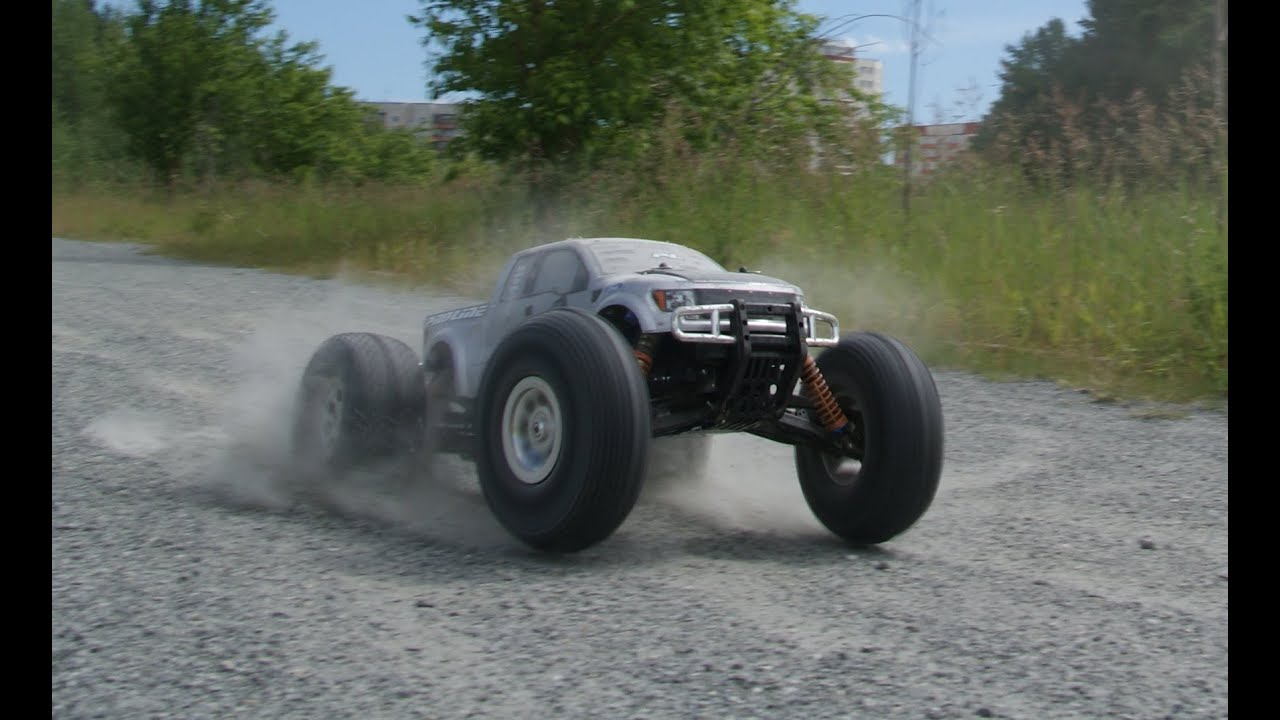 Rc Car Rival Monster Truck And Gravel Youtube