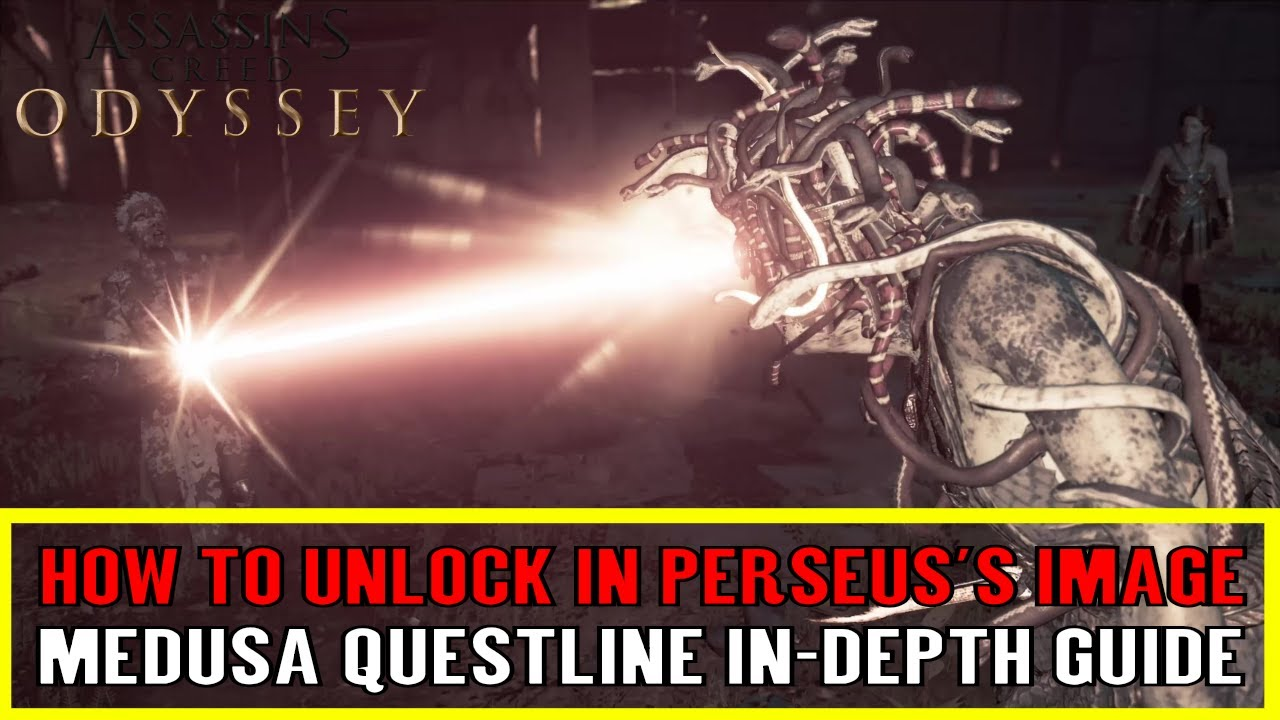 Assassin S Creed Odyssey Medusa Boss Fight And Questline In