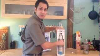 Sodastream Demo and Setup.  Sodastream Reviews, Ratings, Flavors, Soda Stream